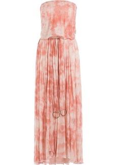 Roberto Cavalli Tie-Dye Printed Maxi Dress