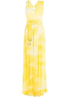 Roberto Cavalli Tie-Dye Printed Maxi Dress