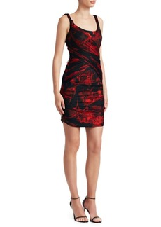 Roberto Cavalli Tulip Shift Dress
