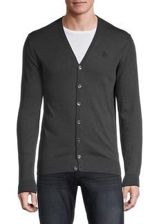 Roberto Cavalli V-Neck Cardigan Sweater