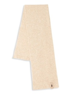 Roberto Cavalli Wool Blend Ribbed Scarf