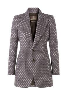 Roberto Cavalli Woven Wool Blazer