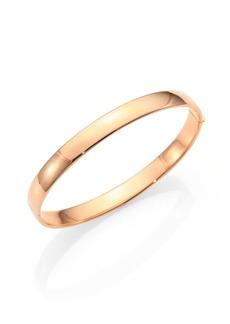 Roberto Coin 18K Rose Gold Bangle Bracelet