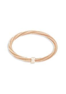 Roberto Coin 18K Rose Gold, Diamond & Ruby Bracelet
