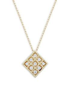 Roberto Coin 18K Yellow Gold & Diamond Necklace