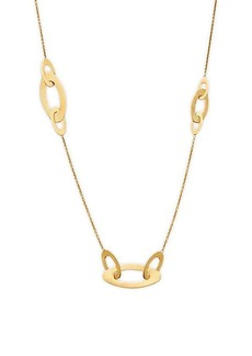 Roberto Coin 18K Yellow Gold & Ruby Necklace