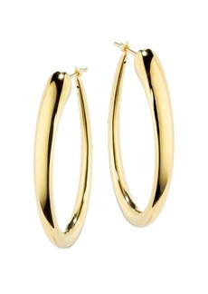 Roberto Coin Basic Gold 18K Yellow Gold Hoop Earrings