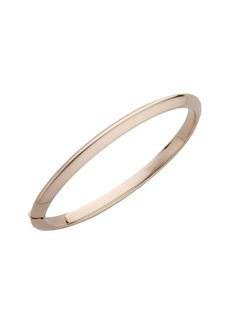 Roberto Coin Classica 18K Rose Gold Knife-Edge Bangle Bracelet