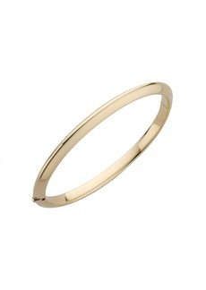 Roberto Coin Classica 18K Yellow Gold Knife-Edge Bangle Bracelet