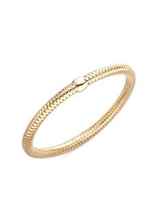 Roberto Coin Primavera 18K Yellow Gold Woven Bracelet