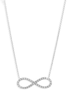 Roberto Coin Robert Coin Diamond Infinity Pendant Necklace
