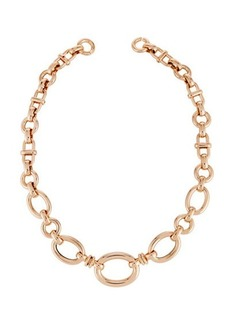 Roberto Coin 18k Rose Gold Mixed Link Necklace