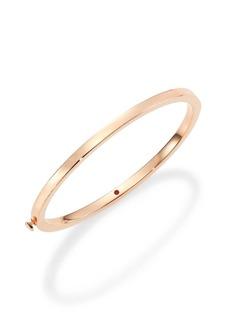 Roberto Coin 18K Rose Gold Oval Bangle Bracelet