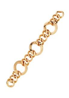 Roberto Coin 18K Rose Three-Ring Round-Link Bracelet