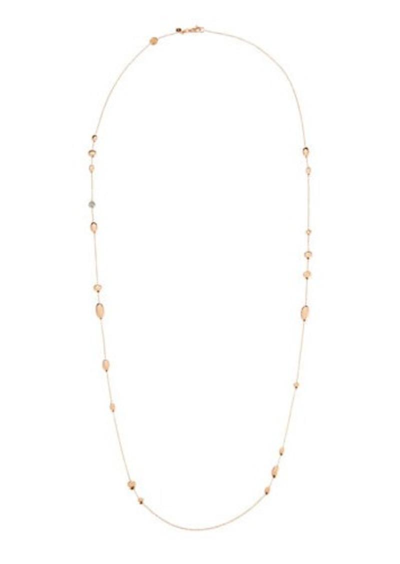 008dddebab6ea 18k Single-Strand Necklace w/ Diamond