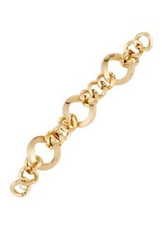 Roberto Coin 18K Three-Ring Round-Link Bracelet