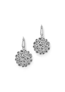 Roberto Coin 18K White Gold Moresque Diamond Earrings
