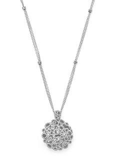 """Roberto Coin 18K White Gold Moresque Diamond Pendant Necklace, 20"""""""