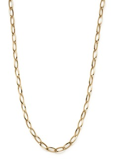 """Roberto Coin 18K Yellow Gold Long Link Chain Necklace, 31"""""""
