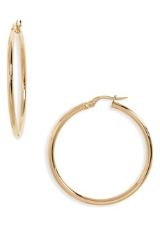 Roberto Coin 35mm Gold Hoop Earrings