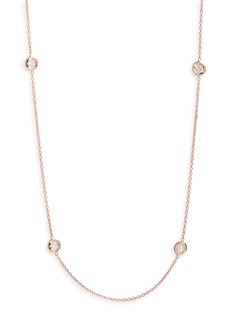 Roberto Coin 5-Station Diamond Necklace