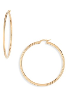 Roberto Coin 45mm Gold Hoop Earrings