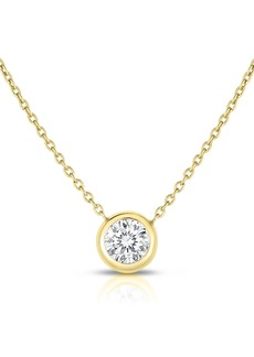 Roberto Coin Bezel Station Necklace