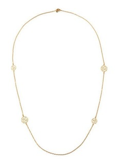 Roberto Coin Bollicine 18k Small Round 4-Station Long Necklace