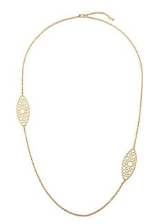 Roberto Coin Bollicine 18k Yellow Gold Long 2-Station Necklace