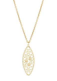 Roberto Coin Bollicine 18k Yellow Gold Pendant Necklace w/ Diamonds
