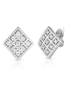 Roberto Coin Byzantine Barocco Diamond Earrings