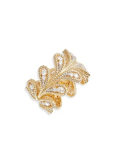 Roberto Coin Byzantine Barocco Diamond Ring