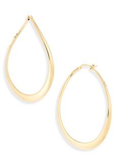 Roberto Coin Classic Oro 18k Gold Hoop Earrings