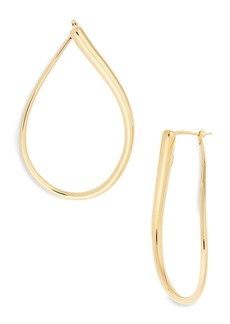Roberto Coin Classic Oro 18K Gold Hoop Earrings