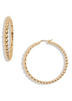Roberto Coin Classico Oro Hoop Earrings