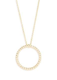 Roberto Coin Diamond Circle Necklace