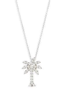 Roberto Coin Diamond Palm Tree Necklace