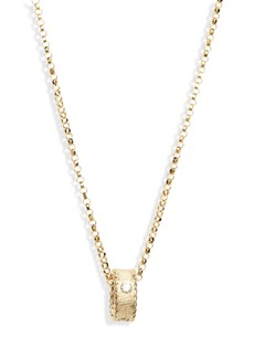 Roberto Coin Diamond Princess Pendant Necklace