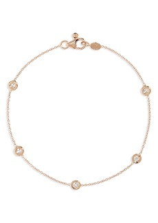 Roberto Coin Diamond Station Bracelet