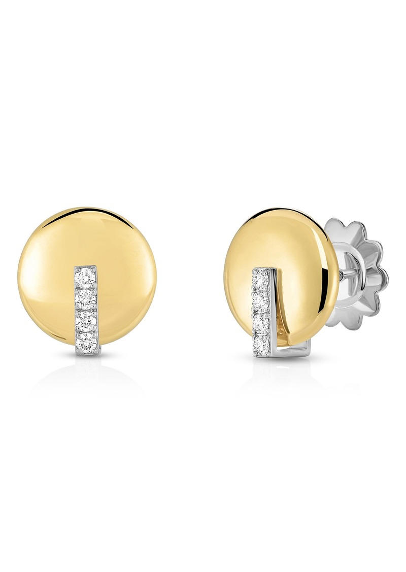 Diamond Stud Earrings Roberto Coin