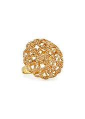 Roberto Coin Mauresque 18k Open-Circle Diamond Cocktail Ring