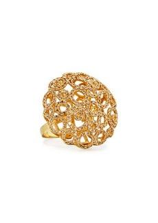 Roberto Coin Mauresque 18k Open-Circle Diamond Cocktail Ring