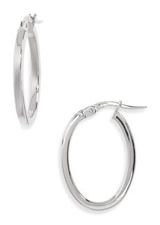 Roberto Coin Medium Hoop Earrings