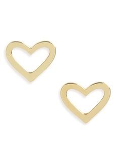 Roberto Coin Open Heart Earrings