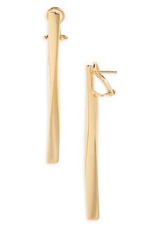 Roberto Coin Oro Classic Drop Earrings
