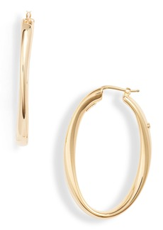 Roberto Coin Oro Classic Hoop Earrings
