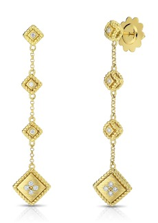 Roberto Coin Palazzo Ducale Diamond Drop Earrings