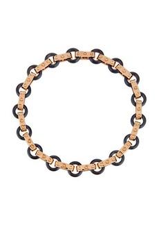 Roberto Coin Pois Moi 18k Rose Gold & Titanium O-Ring Bracelet
