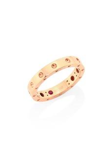 Roberto Coin Pois Moi 18K Rose Gold Band Ring