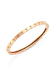 Roberto Coin Pois Moi 18K Rose Gold Oval Bangle Bracelet